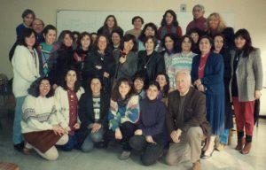 Primeras formaciones del Centro de Desarrollo Cognitivo en PEI, durante los años 90'.